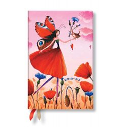 Paperblanks naptár (2019/20) 18 hónapos - Poppy Field  mini horizontális