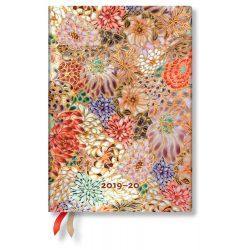 Paperblanks naptár (2019/20) 18 hónapos - Kikka midi horizontális