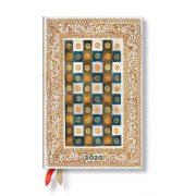 Paperblanks naptár (2020) 12 hónapos - Aureo mini napi