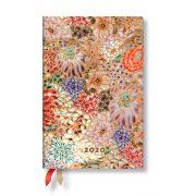 Paperblanks naptár (2020) 12 hónapos - Kikka mini horizontális