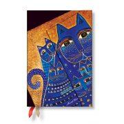 Paperblanks naptár (2020) 12 hónapos - Mediterranean Cats mini horizontális