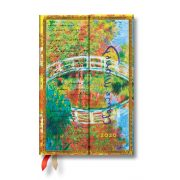 Paperblanks naptár (2020) 12 hónapos - Monet (Bridge), Letter to Morisot mini horizontális
