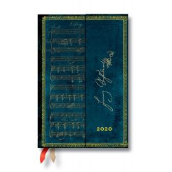 Paperblanks naptár (2020) 12 hónapos - Schubert, Erlkönig mini horizontális