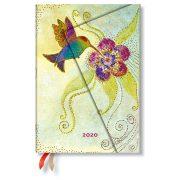 Paperblanks naptár (2020) 12 hónapos - Hummingbird midi napi