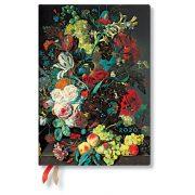 Paperblanks naptár (2020) 12 hónapos - Van Huysum midi horizontális