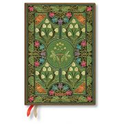 Paperblanks naptár (2020) 12 hónapos - Poetry in Bloom midi horizontális