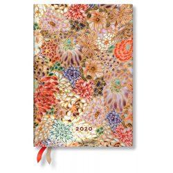 Paperblanks naptár (2020) 12 hónapos - Kikka midi horizontális