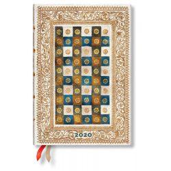 Paperblanks naptár (2020) 12 hónapos - Aureo midi vertikális