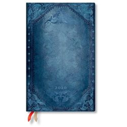 Paperblanks naptár (2020) 12 hónapos - Peacock Punk Bold maxi horizontális