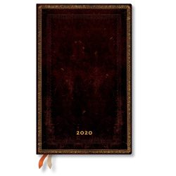 Paperblanks naptár (2020) 12 hónapos - Black Moroccan maxi vertikális