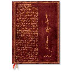 Paperblanks naptár (2020) 12 hónapos - Shakespeare, Sir Thomas More ultra napi