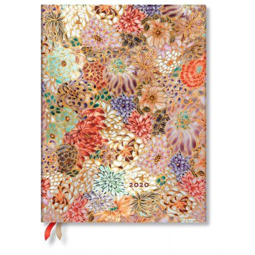 Paperblanks naptár (2020) 12 hónapos - Kikka ultra vertikális