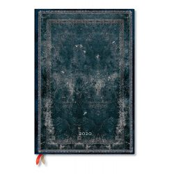 Paperblanks naptár (2020) 12 hónapos - Midnight Steel grande vertikális