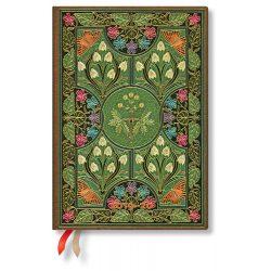 Paperblanks Flexi naptár (2019/20) 18 hónapos - Poetry in Bloom midi horizontális