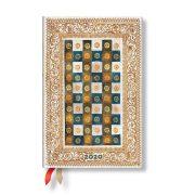 Paperblanks FLEXIS naptár (2020) 12 hónapos - Aureo mini horizontális
