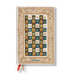 Paperblanks Flexi naptár (2020) 12 hónapos - Aureo mini horizontális