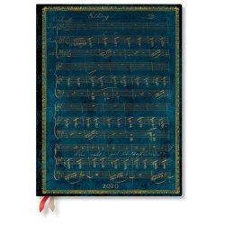 Paperblanks Flexi naptár (2020) 12 hónapos - Schubert, Erlkönig ultra napi
