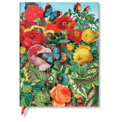 FLEXIS notesz, füzet Butterfly Garden ultra vonalas 176 old.
