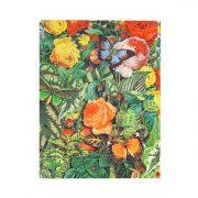 Paperblanks FLEXIS notesz, füzet Butterfly Garden ultra vonalas 176 old.