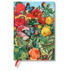 FLEXIS notesz, füzet Butterfly Garden midi vonalas 176 old.