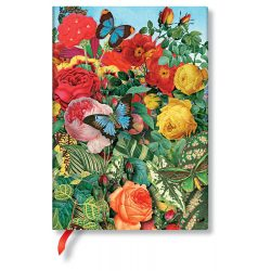FLEXIS notesz, füzet Butterfly Garden midi vonalas 240 old.