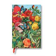 FLEXIS notesz, füzet Butterfly Garden mini vonalas 208 old.