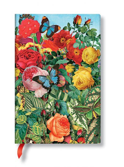 Paperblanks FLEXIS notesz, füzet Butterfly Garden mini vonalas 208 old.