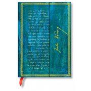Paperblanks butikkönyv Verne, Twenty Thousand Leagues midi vonalas