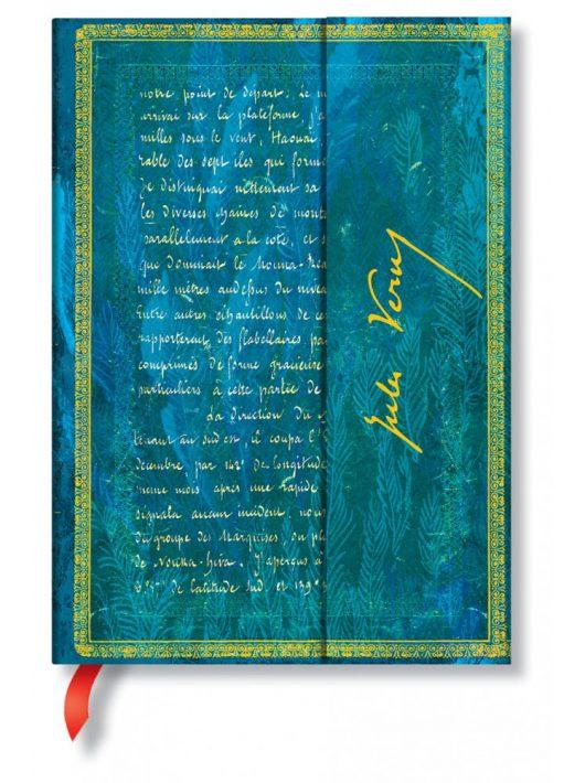 Paperblanks butikkönyv Verne, Twenty Thousand Leagues midi üres