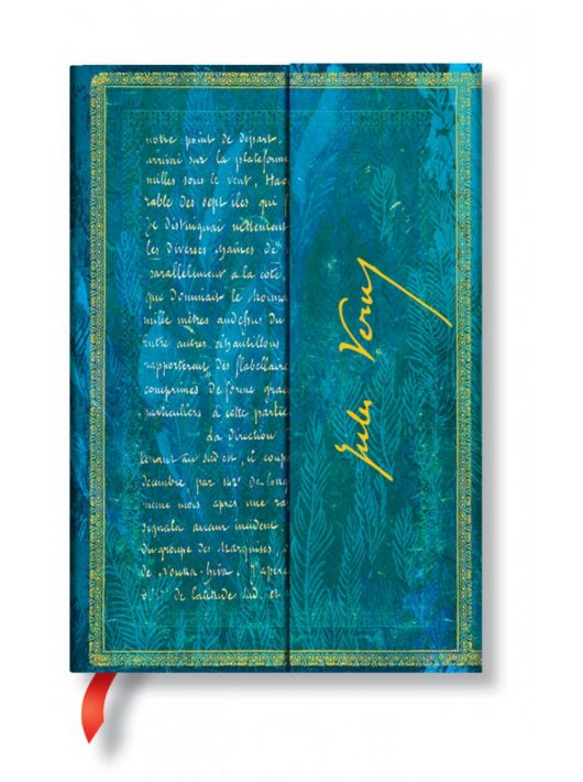 Paperblanks butikkönyv Verne, Twenty Thousand Leagues mini üres