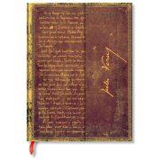 Paperblanks butikkönyv Verne, Around the World ultra vonalas