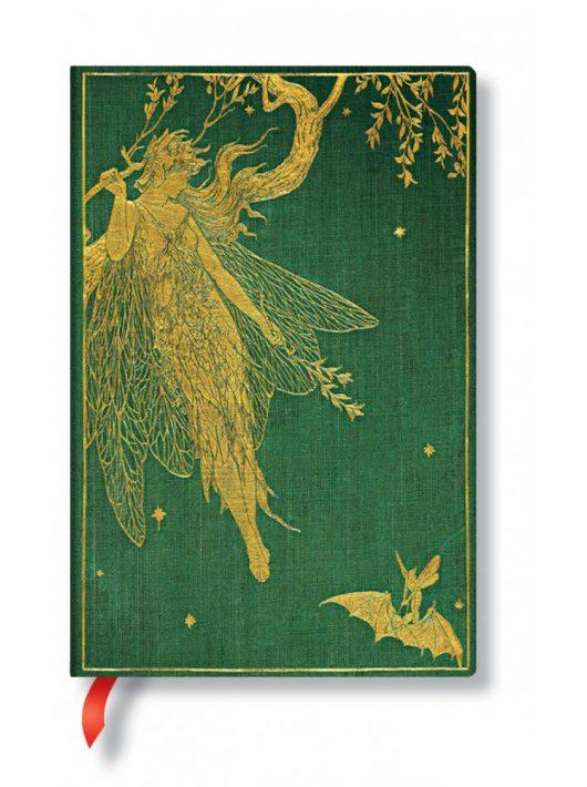 Paperblanks butikkönyv Olive Fairy mini üres