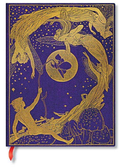 Paperblanks butikkönyv Violet Fairy ultra vonalas