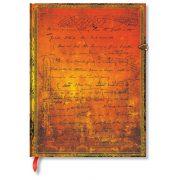 Paperblanks butikkönyv H.G. Wells' 75th Anniversary ultra vonalas