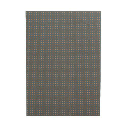 Paper-Oh Circulo Grey on Orange A4 vonalas