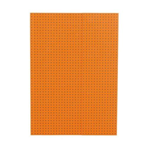 Paper-Oh Circulo Orange on Grey A4 vonalas