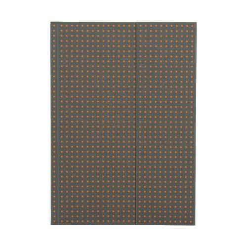 Paper-Oh Circulo Grey on Orange A5 vonalas