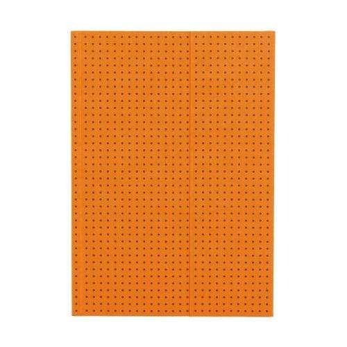 Paper-Oh Circulo Orange on Grey A5 vonalas