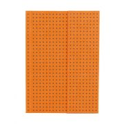 Paper-Oh Circulo Orange on Grey A6 vonalas