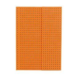 Paper-Oh Circulo Orange on Grey A6 üres