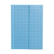 Paper-Oh Circulo Blue on Grey A6 vonalas