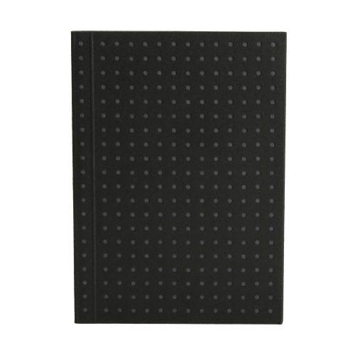 Paper-Oh Circulo Black on Grey A7 üres