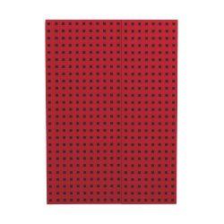 Paper-Oh Quadro Red on Black B5 vonalas