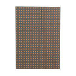 Paper-Oh Quadro Grey on Orange B5 vonalas