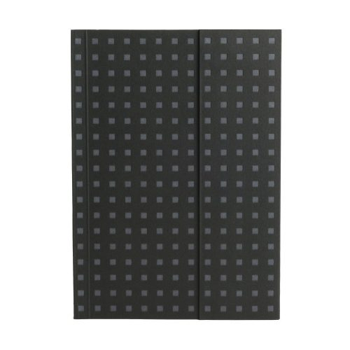 Paper-Oh Quadro Black on Grey B6 vonalas