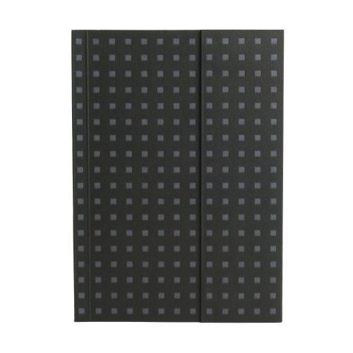 Paper-Oh Quadro Black on Grey B6 üres