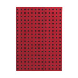 Paper-Oh Quadro Red on Black B6 vonalas