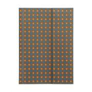 Paper-Oh Quadro Grey on Orange B6 vonalas