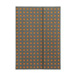Paper-Oh Quadro Grey on Orange B6 üres