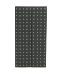 Paper-Oh Quadro Black on Grey B6.5 üres